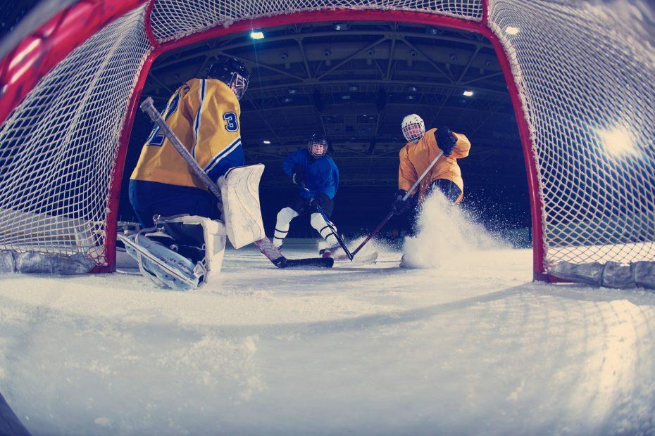 Ryssland Sverige Hockey VM match